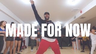 Janet Jackson X Daddy Yankee - Made For Now Dance  @bizzyboom Choreography