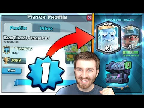 LEVEL 1 NOOB UNLOCKS ROYAL GHOST! | Clash Royale | HUGE KINGS CHEST OPENING!