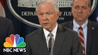 Jeff Sessions Announces Tougher Sentencing Policy For Drug Offenses   NBC News Free HD Video