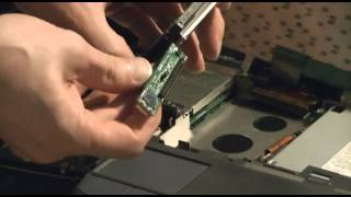 44pin to Sata converter inside laptop installation