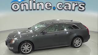 oA97487PT Used 2012 Cadillac CTS Wagon Gray Test Drive, Review, For Sale