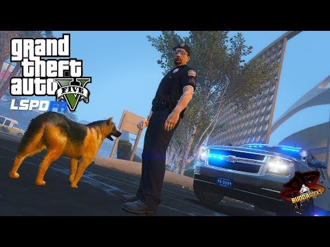 "LSPDFR GTA 5 Airport Police◆""Law Paw""◆LSIA K9 Unit◆Unmarked Suburban◆Real Life Police Mods Video🚓"