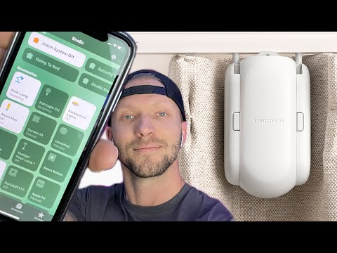 SwitchBot Curtains in HOMEKIT With Hoobs + GIVEAWAY!