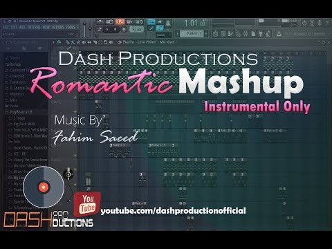 Romantic Mashup Instrumental Only Music by Fahim Saeed | Dash Productions