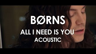 BØRNS All I Need Is You 10 000 Emerald Pools Acoustic Live In Paris