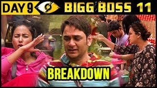 Hina Khan Made Vikas Gupta CRY | Bigg Boss 11 Day 9 – Episode 9 | 10th October 2017 Episode Update
