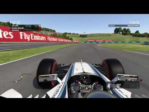 Team-F1 | Championnat GP2 | Saison 17 | Team Williams | GP de Hongrie