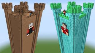 1$ THEMURAT KULE VS 1000$ BRO KULE - Minecraft