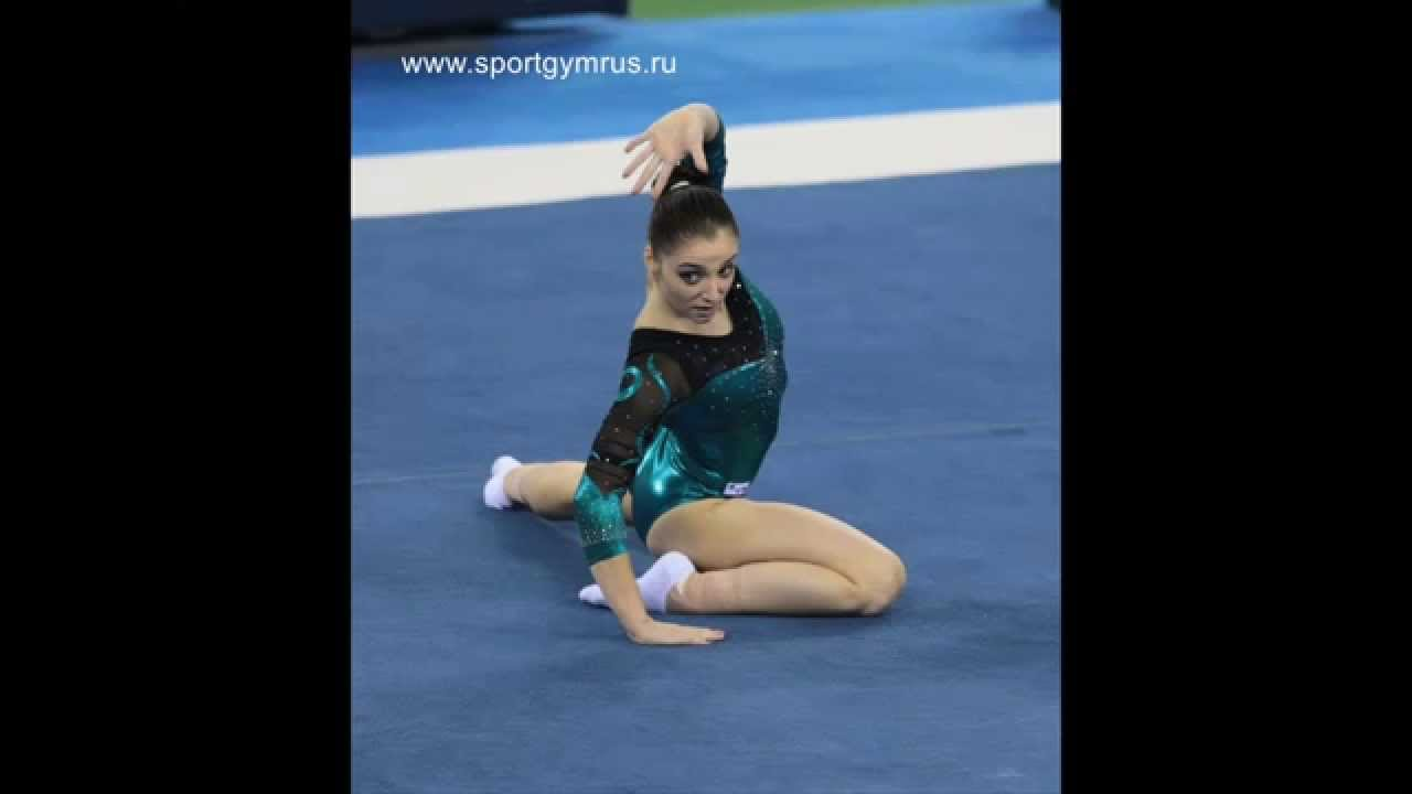 Aliya Mustafina Floor Music 2014 And 2018 Youtube