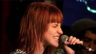 "Paramore: ""Misery Business"" Acoustic @ Hard Rock Cafe"