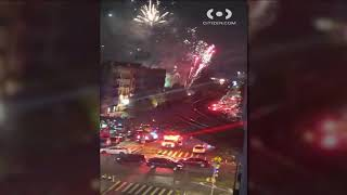 Illegal fireworks destroys family's NYC apartment