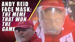Andy Reid Face Mask The Meme That Won the Game