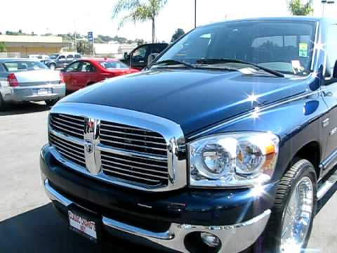 Blue RAM Truck on Rims For Sale in SAN DIEGO . Classic Chariots Used Cars