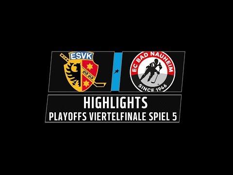 DEL2 Highlights Playoffs Viertelfinale Spiel 5 | ESV Kaufbeuren vs. EC Bad Nauheim