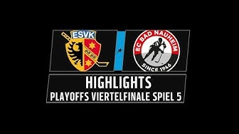 DEL2 Highlights Playoffs Viertelfinale Spiel 5 | ESV Kaufbeuren vs. EC Bad Nauheim