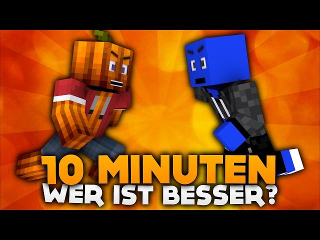 10 MINUTEN! WER IST BESSER? | DieBuddiesZocken