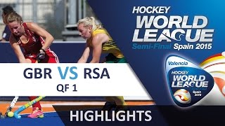 Great Britain v South Africa Match Highlights - Valencia Women
