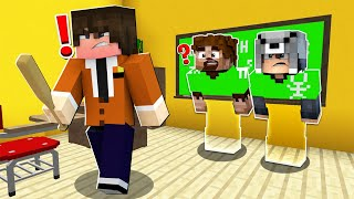 FAKİR SINIFTA GÖRÜNMEZ OLUP SAKLANDI! 😱 - Minecraft