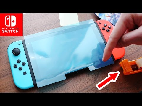 EVERYONE should learn this TRICK【Switch Screen Protector】