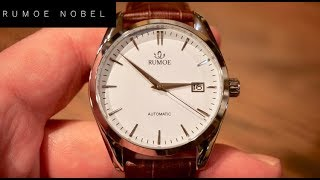 Rumoe Nobel Royal Automatic Mens Dress Watch Review - A Cool Sarb Alternative