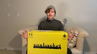 Sunbasket Unboxing And Review