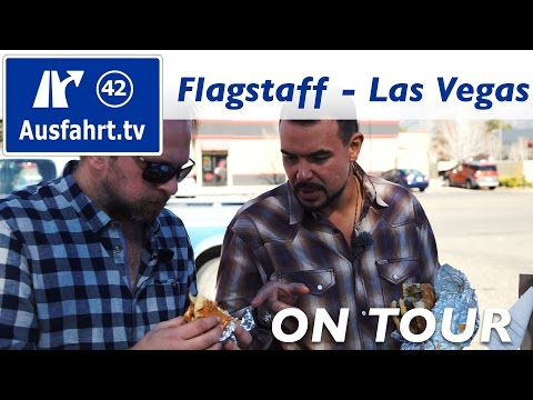 USA-Roadtrip Coast to Coast: Flagstaff - Las Vegas #mbc2c #mbrtc2c16 Ausfahrt.tv on tour
