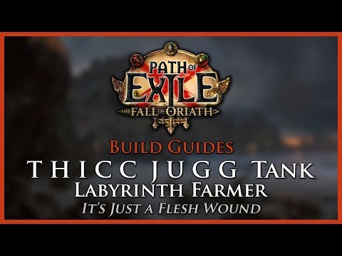 Path of Exile [3.3]: THICC JUGG Tank - Eternal Labyrinth Farmer - Build Guide