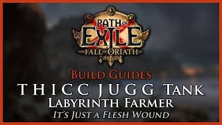 Path of Exile [3.2]: THICC JUGG Tank - Eternal Labyrinth Farmer - Build Guide thumbnail