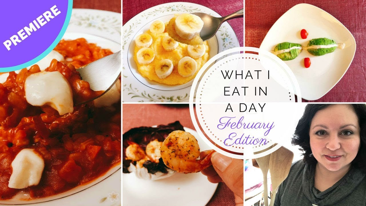 What I Eat in a Day - Mediterranean Diet - February 2019