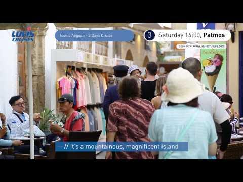 3 Days Cruise Iconic Aegean - Mykonos, Kusadasi, Patmos, Heraklion Crete, Santorini