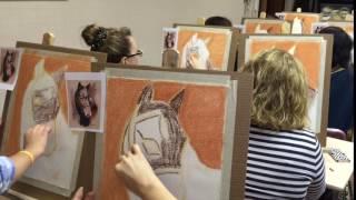 Урок пастельной живописи