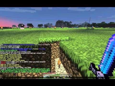 100th Video Special : Minecraft Public Server (rpg4mc)