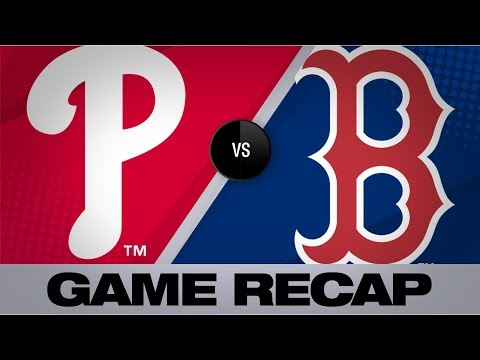 Harper powers Phillies to 5-2 victory | Phillies-Red Sox Game Highlights 8/21/19