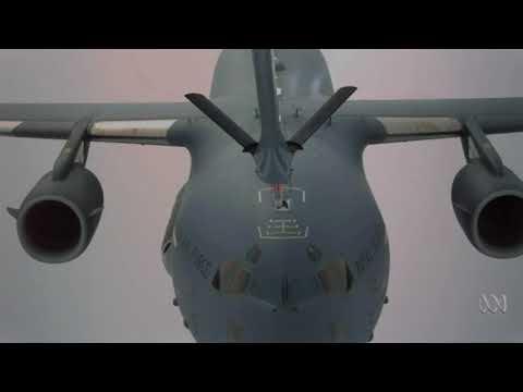 RAAF C-17 Antarctic airdrop, report