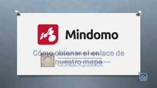 MINDOMO. Obtener enlace de mapa e insertarlo en un blog