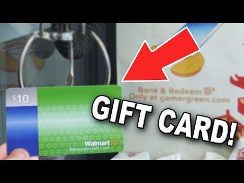 Winning a Walmart Gift Card | Claw Machine Wins | GOLD G!