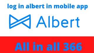 log in albert iฑ mobile app | best checking account 2021