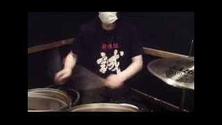 anaal nathrakh / more of fire than blood / drum cover