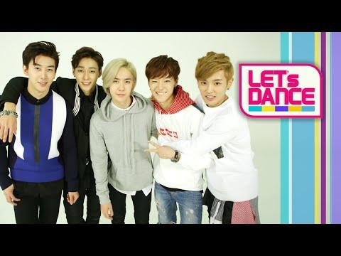 Let's Dance: UNIQ(유니크)   Falling In Love [ENG/JPN/CHN SUB]