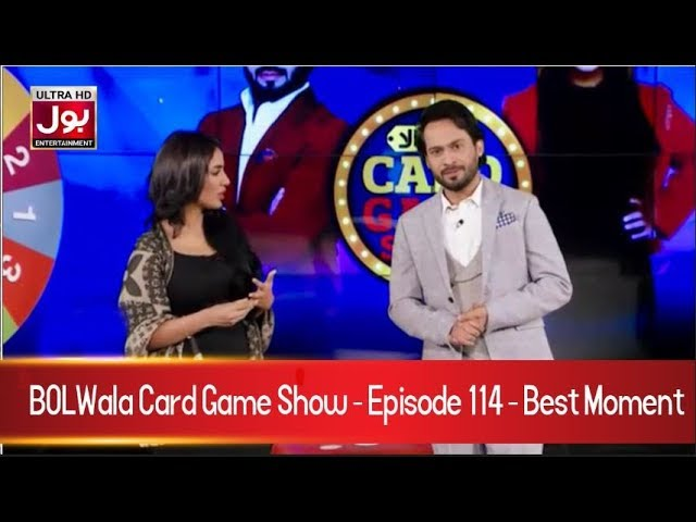BOLWala Card Game Show Best Clip | Mathira & Waqar Zaka Show | 24th April 2019 | BOL Entertainment
