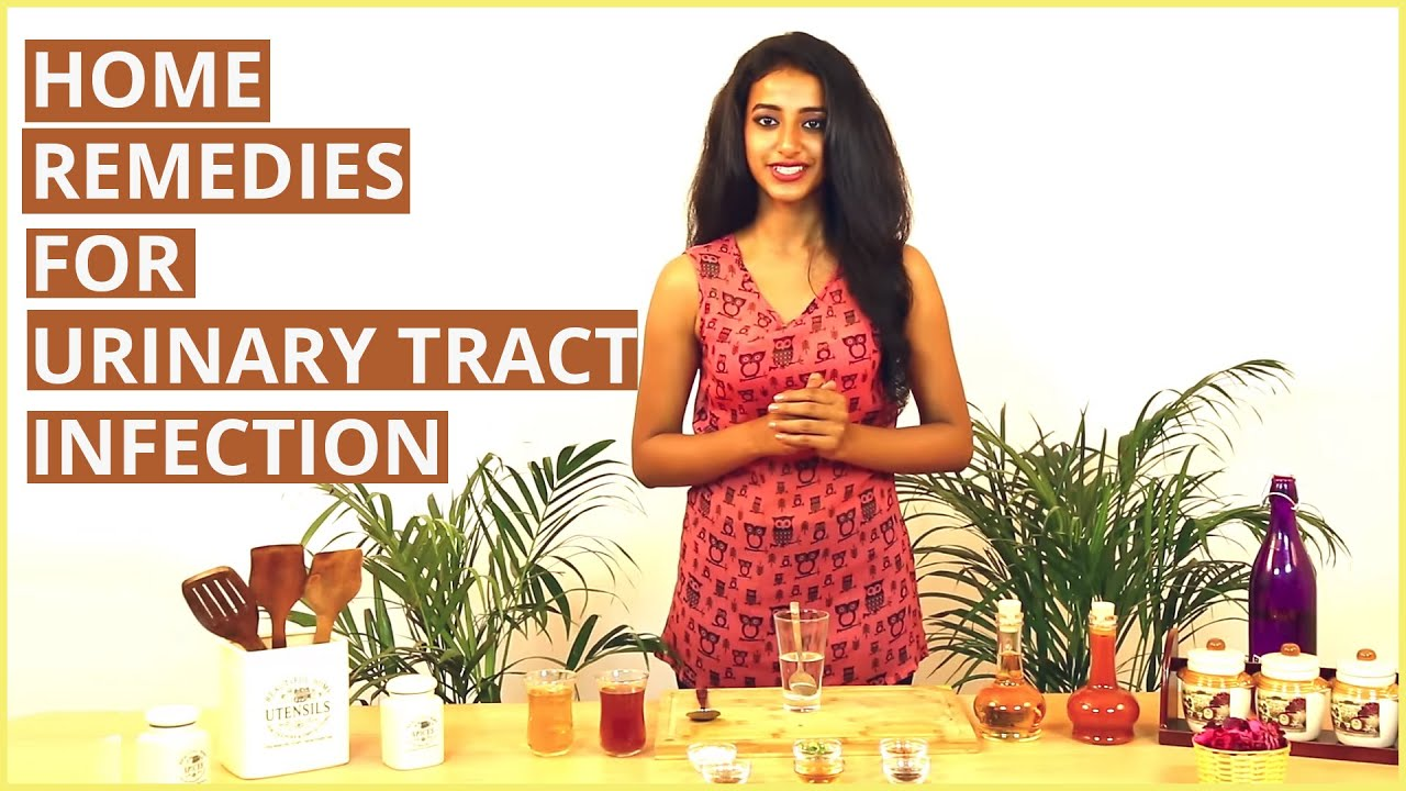 3 Simple Home Remedies To Treat Urinary Tract Infection