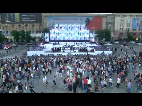 """Акция-концерт """"Дети Харькова - За Мир!"""""""