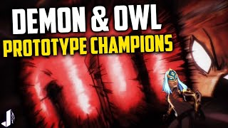 Paladins Prototype Champions - Demon has a Sniper FIST!? Owl & OB55 Datamine