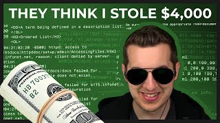 Pretending To Steal $4,000 As Rival Tech Scammer