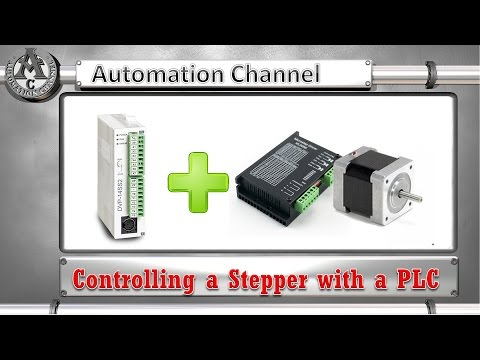 Controlling a Stepper Motor with a PLC