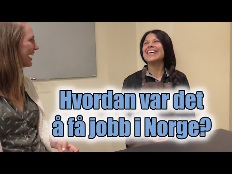 Hør hvordan de fikk jobb i Norge (Aschehoug)