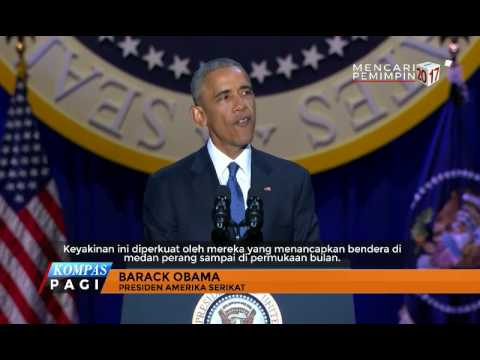 Perpisahan Presiden AS Barack Obama Mp3