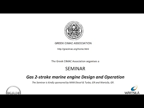 Gas 2-Stroke Marine Engine Design & Operation Seminar