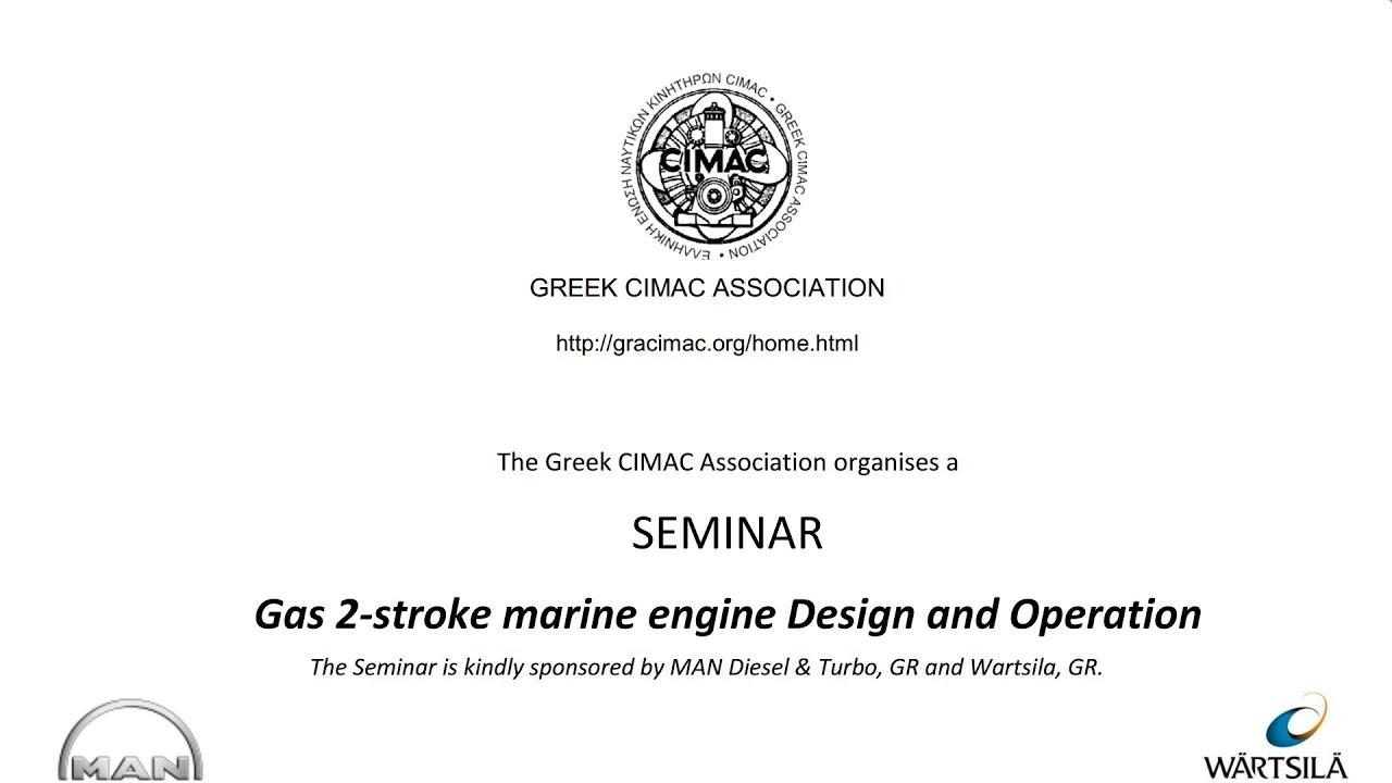 Gas 2 Stroke Marine Engine Design Operation Seminar