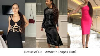 House of CB Dresses from Amazon | Mini Dupe Haul